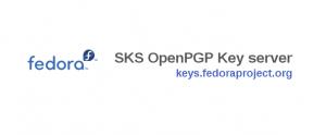Anunciando el Servidor Fedora GPG Key – keys.fedoraproject.org