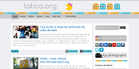 New look for tatica.org