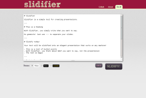 slidifier