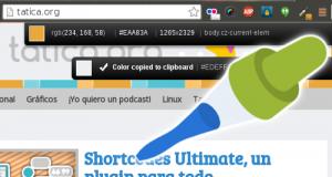 ColorZilla, recoge muestras de color en tu navegador