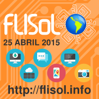 Graphics for FLISoL 2015