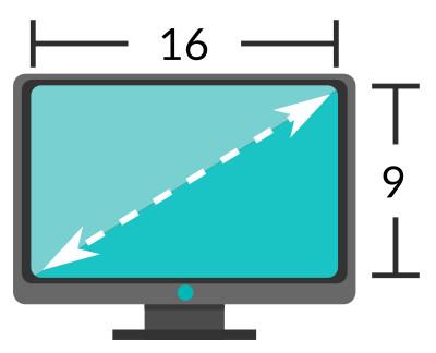 Medidas est ndar para fondos de pantalla wallpapers - Medidas de monitores para pc ...